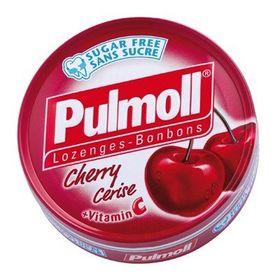 Pulmoll Sugar Free Lozenges Cherry Flavour, 45g