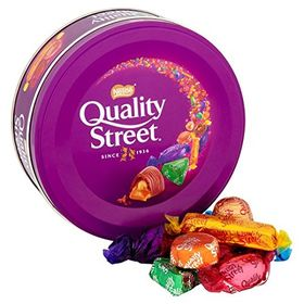 Nestle Supreme World Street Chocolates & Toffees Tin Box (240 g)