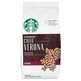 Starbucks Cafe Verona Roasty Sweet & Dark Cocoa Ground 100% Arabica, 200g