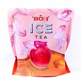 BOH Ice Tea Peach Instant Tea Mix Packet (20 X 14.5g), 290g