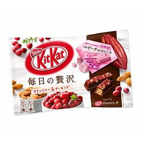 Kit Kat Sublime Ruby Cranberry Almond Minis Chocolate Packet