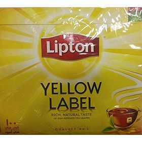 Lipton Yellow Label Rich, Natural Taste, 100 Tea Bags, 200g