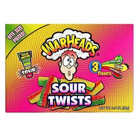 Warheads Sour Twist Chewy Candy Box, 99g