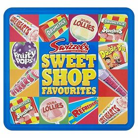 Swizzles Sweet Shop Favourites Assortment Tin Box, 750g