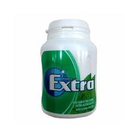 Wrigley's Extra Sugar Free Sweet Mint Flavour Chewing Gum Bottle, 56g