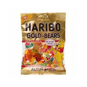 Haribo Gold Bears (Halal) Gummy Candy, 160g