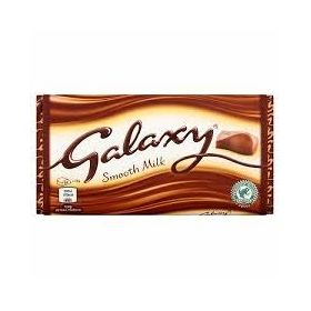 Galaxy Smooth Milk Chocolate Bar, 110g