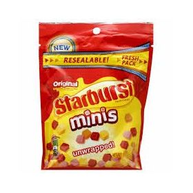 Starburst Mini Fruit Chews Original, 152g