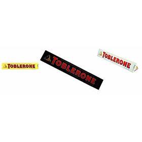 Toblerone Combo Pack of 1 Milk + White + Dark Chocolate Bar 100g
