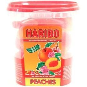 Haribo Peaches (Halal) Jar, 175g