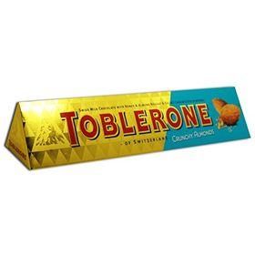 Mondelez Toblerone Swiss Milk Chocolate with Crunchy Almonds - 360g