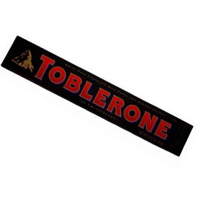 Toblerone Swiss Dark Chocolate with Honey & Almond Nougat (100g) - Pack of 2
