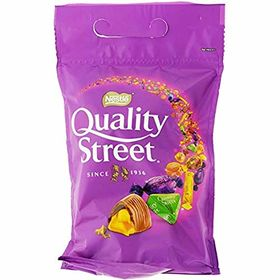 Nestle Quality Street Assorted Milk & Dark Chocolate & Toffee Bag, 450g