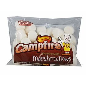 Campfire Premium Gluten Free & Fat Free Marshmallows, 300g