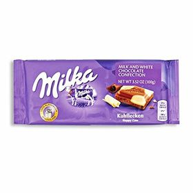 Milka Happy Cow ( Kuhflecken ) Chocolate Bar, 100g