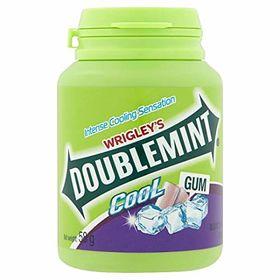 Wrigley's Doublemint Blackcurrant Flavour Cool Gum 40 Pallets Bottles 58g
