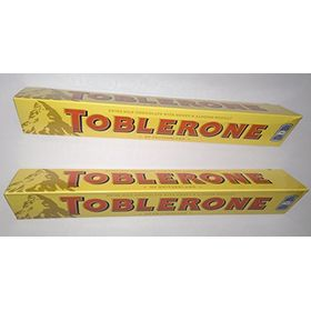 Toblerone Swiss Milk Chocolate, 100g (Pack of 2)
