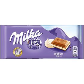 Milka Yoghurt Milk Chocolate Bar 100g