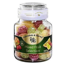 Cavendish & Harvey Candy Fruit Jar, 300g