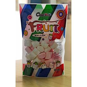 Captain Fruit Marshmallows (Halal) Pink & White Color, 200g