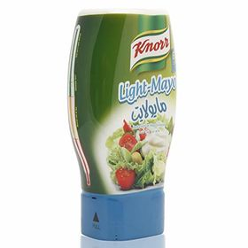 Knorr Light Mayonnaise Reduced Fat, 295ml