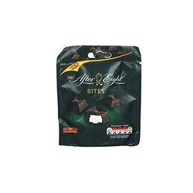 Nestle After Eight Bites Dark Chocolate with Peppermint Packet, 107g