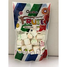 Captain Fruit Marshmallows (Halal) Smileys, 200g