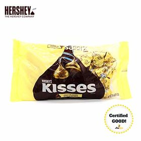 Hershey's Kisses Creamy Milk Chocolate with Almond, 315g