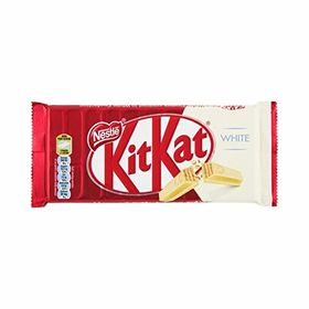 Nestle Kitkat White Finger Chocolate Bar, 135g