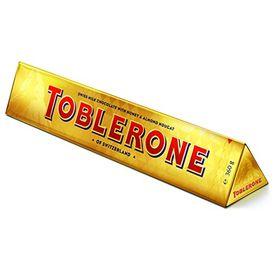 Toblerone Swiss Milk Chocolate with Honey & Almond Nougat, 360g
