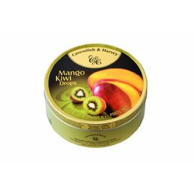 Cavendish & Harvey Mango & Kiwi Drops, 200g