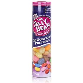 The Jelly Bean Factory 36 Gourmet Flavour Jelly Beans 1 Tube, 100g