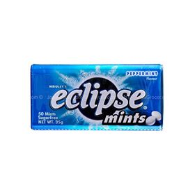 Wrigley's Eclipse Peppermint Sugarfree Mint Tin 35g