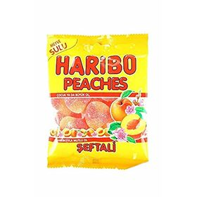 Haribo Peaches (Halal) Candy, 80g
