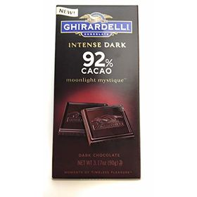 Ghirardelli 92% Intense Dark Chocolate Bar, 90g