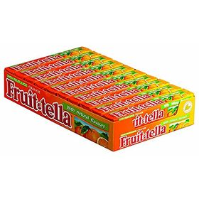 Fruittella Orange Flavour Chewy Candy 20 Stick Box ( 20 X 36g ), 720g