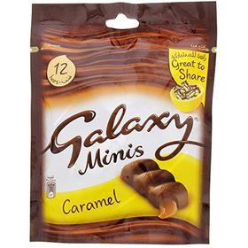 Galaxy Minis Caramel 12 Bars 168g