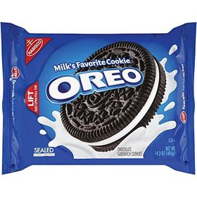 Nabisco Oreo Milk Chocolate Sandwich Cookies, 405g