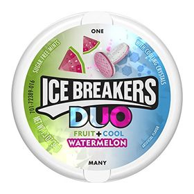 Ice Breakers Duo Fruit + Cool Watermelon, 36g