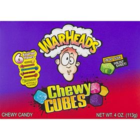 Warhead Chewy Cubes Sour, 113g