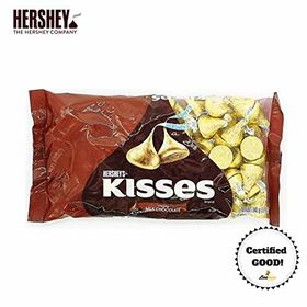 Hershey's Kisses Creamy Milk Chocolate, 340g