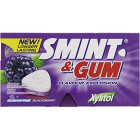 Smint BlackBerry Sugar Free Gum (Pack of 2), 13.9g