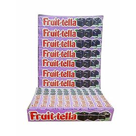 Fruittella Blackcurrant Flavour Chewy Candy 20 Stick Box ( 20 X 36g ), 720g
