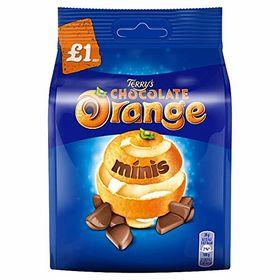 Terrys Chocolate Orange Minis Chocolate Packet 95g