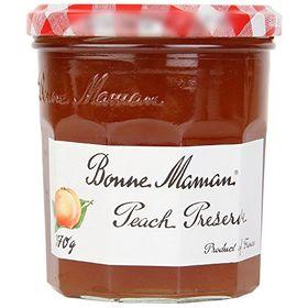 Bonne Maman Peach Preserve, 370g