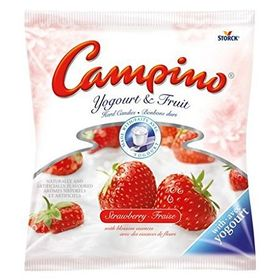 Storck Campino Strawberry & Yogurt Fruit Candies, 75g