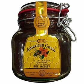 American Green 100% Pure Bee Honey, 1Kg
