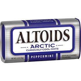 Altoid Arctic Peppermint Sugarfree Cool Mints Tin, 34g