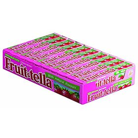 Fruittella Strawberry Flavour Chewy Candy 20 Stick Box ( 20 X 36g ), 720g