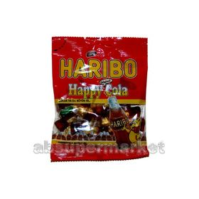 Haribo Original Happy Cola Gummy 80g (Halal)